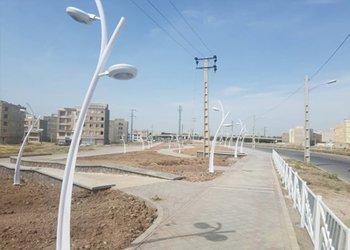 فاز دوم پروژه بوستان امام علی(ع) ۸۵ درصد پیشرفت داشته است