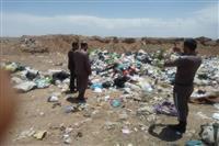 بازدید از لندفیل زباله شهرهای انار و امین شهر، با حضور دادستان شهرستان