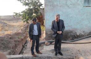 بازدید نماینده مردم گناباد و بجستان از روستاهای بخش مرکزی این شهرستان