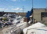 کارگاه بازیافت پلاستیک در محاصره آتش