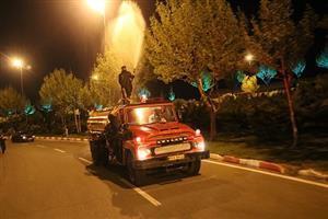 مرحله  نخست عملیات سمپاشی بهاره درختان سطح شهرسنندج آغاز می شود