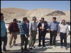 بازدید سرپرست آب منطقه ای بوشهر از پروژه های منابع آب شهرستان دشتستان و تنگستان