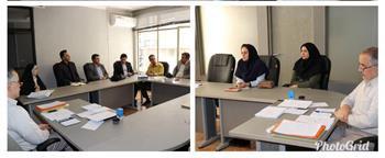 دیدار مسئولین سازمان نظام مهندسی ساختمان قزوین با رییس مجمع نمایندگان استان در خانه ملت
