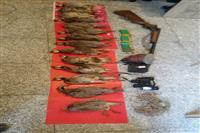 دستگیری متخلفان شکار پرندگان غیر مجاز در منطقه شکار ممنوع مهارلو