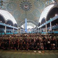 مصلی آماده برپایی نماز عید فطر میشود