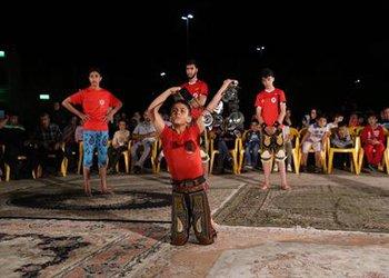 دومین برنامه اجرای ورزش باستانی در بوستان الغدیر برگزار شد