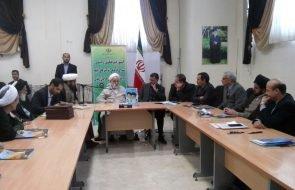 برگزاری جلسه شورای فرهنگی شرکت های تابع وزارت نیرو با حضور رئیس ستاد اقامه نماز کشور