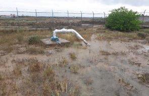 سیل در روستاهای طرقبه شاندیز منجر به بروز خسارت به تاسیسات آبی شد