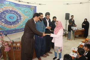 تجلیل از شرکت کنندگان در مراسم جزء خوانی قرآن در نگارخانه شهرداری سنندج