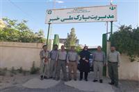 بازدید مدیرکل حفاظت محیط زیست استان کرمان از اداره پارک ملی خبر،شهرستان بافت