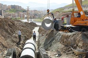 عملیات اتصال بلوار کمال الملک به بلوار شهدای نیروی انتظامی به روایت تصویر