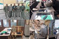 شناسایی و دستگیری شکارچیان سابقه دار توسط سبز جامگان محیط زیست در پارک ملی بمو
