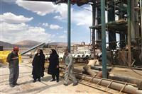 بازدید سرزده مهندس شاکری مدیرکل حفاظت محیط زیست استان کرمان از شرکت های ناژین مجد کریمان تولید کننده انواع سولفات های معدنی و شرکت تارا شیمی تولید کننده سولفات آمونیوم