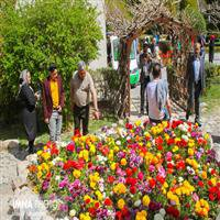 برپایی نمایشگاه روز ملی گل در باغ گلها