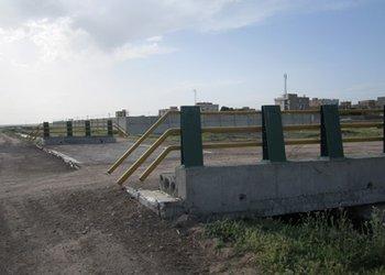 عملیات عمرانی پروژه پل ورودی ناحیه دانش به ناصر آباد به پایان رسید