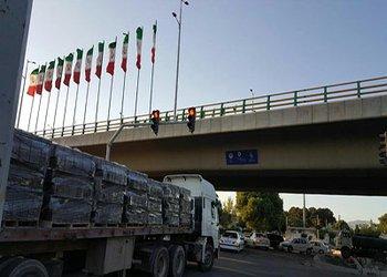نصب چراغ راهنمایی تقاطع خیابان اصفهان و بلوار جمهوری اسلامی به پایان رسید