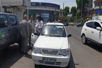 به مناسبت هفته محیط زیست انجام شد:کنترل برچسب معاینه فنی خودروها در آستانه اشرفیه