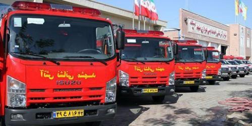 اتصال ۲۲ ایستگاه آتشنشانی مشهد به شبکه فیبرنوری