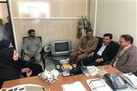 بازدید فرماندار کرمان از اداره حفاظت محیط زیست شهرستان کرمان به مناسبت هفته محیط زیست