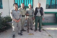 دستگیری شکارچیان غیرمجاز درکیاسر