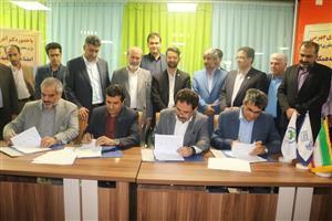 تفاهم نامه همکاری مشارکت و سرمایه گذاری در پیاده سازی پروژه های مرتبط با شهر هوشمند سنندج امضاء شد