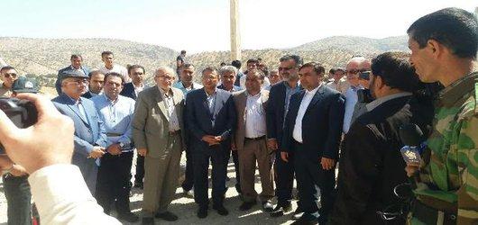 بازدید اعضاء کمیسیون آب وکشاورزی مجلس و مهندس حاج رسولی ها از سد پارسیان درفارس