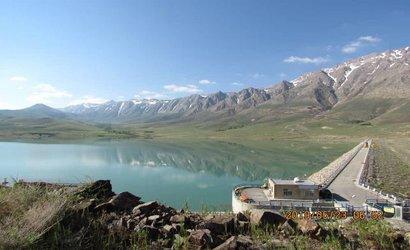 حجم آب سد باغکل در حداکثر ظرفیت قرار دارد