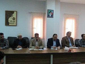 برگزاری جلسه شورای حفاظت از منابع آب (سازگاری با کم آبی) بم