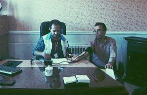 مشارکت کارکنان امور آبفار تایباد در طرح بسیج ملی کنترل فشار خون