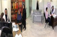 برپایی ایستگاه سنجش فشارخون در اداره کل حفاظت محیط زیست استان کرمان به مناسبت هفته محیط زیست