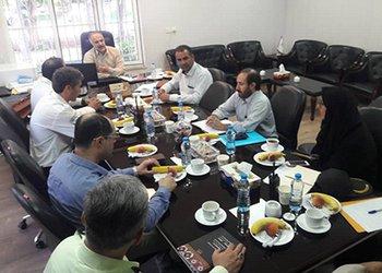 اولین جلسه کارگروه تدفین ستاد بحران شهرداری قزوین در سال ۹۸ برگزار شد