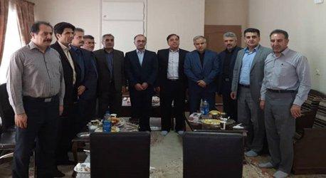 برگزاری جلسه توسعه منابع انسانی شرکتهای صنعت آب و برق استان