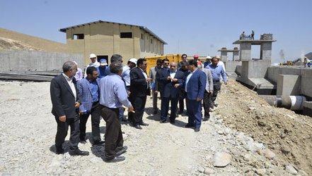 استاندار از طرح آبرسانی به شهر کرمانشاه بازدید به عمل آورد