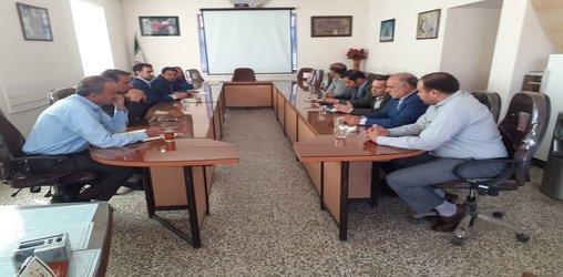 به مناسبت هفته جهاد کشاورزی صورت گرفت: دیدار شهردار زرند با رئیس جهاد کشاورزی این شهرستان