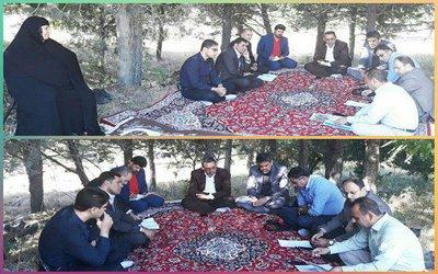 جلسه کمیسیون نظارت شورای اسلامی شهر بروجرد