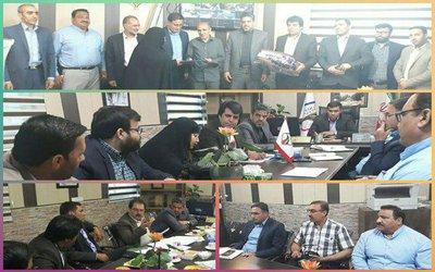 جلسه کمیسیون عمران و خدمات شهری  شورای اسلامی شهر بروجرد
