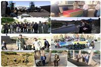 فعالیت های زیست محیطی اداره حفاظت محیط زیست شهرستان زرند در هفته محیط زیست