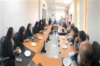 برگزاری نشست مدیر کل و معاونین حفاظت محیط زیست کرمان با اصحاب رسانه و مطبوعات به مناسبت هفته محیط زیست