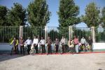 افتتاح مسیر دوچرخه بولوار ملک آباد