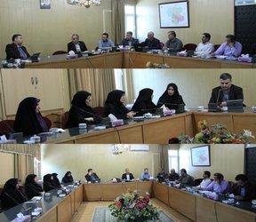 برگزاری جلسه کمیته سلامت اداری و صیانت از حقوق مردم و مبارزه با رشوه در شرکت آب منطقه ای زنجان