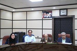برگزاری جلسه شورای مدیران شرکت آب منطقه ای کرمان