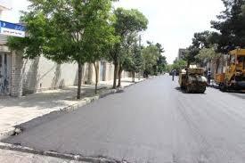 آغاز عملیات بهسازی و آسفالت معابر شهری در مشهد