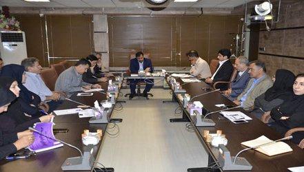 جلسه افتتاحیه ممیزی خارجی سیستم های مدیریت یکپارچه در شرکت آب منطقه ای کرمانشاه برگزار شد