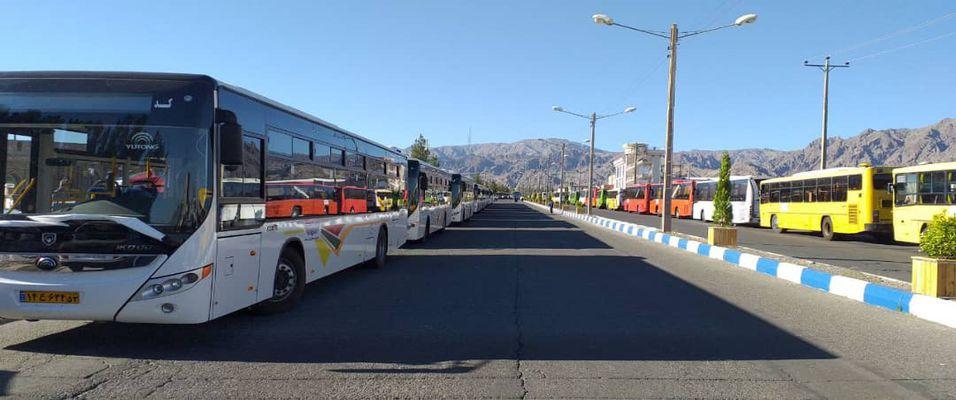تغییر فعالیت ناوگان اتوبوسرانی از اول تیر ماه