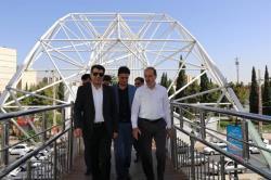پلهای عابر پیاده شهر، بهسازی و ساماندهی میشوند