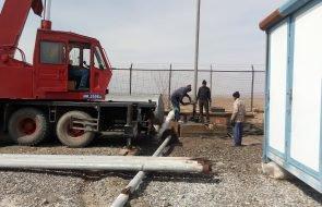 رفع مشکل آب شرب ۱۴۰۰ مشترک روستایی با تجهیز چاه مجتمع آبرسانی کته شمشیر فریمان