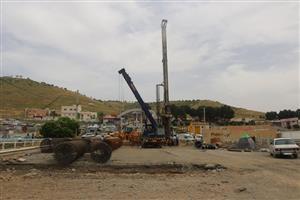عملیات اتصال بلوار  کردستان  به بلوار  ساحلی  واحداث تقاطع غیر همسطح توحید
