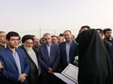 وزیر نیرو از پروژه مجتمع آبرسانی به ۲۴ روستای شهرستان نایین بازدید کرد