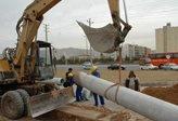 بخشی از شبکه آبرسانی شهر ساوه اصلاح و بازسازی شد