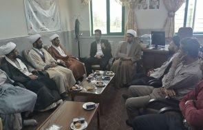 سخنرانی سرپرست امور آبفار تایباد در جمع روحانیون این شهرستان